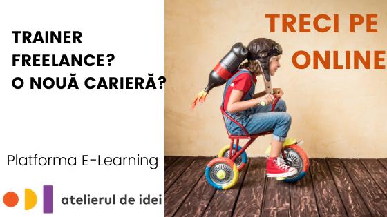Platforma e-learning facilitatori freelance