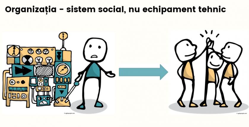 Agile organisation social system